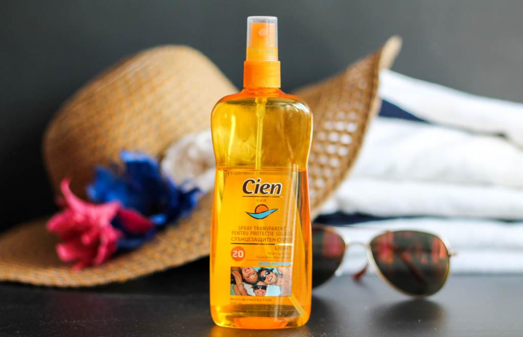Слънцезащитно олио Cien